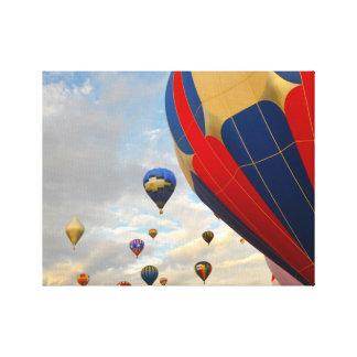 Nevada Hot Air Balloon Races Canvas Print
