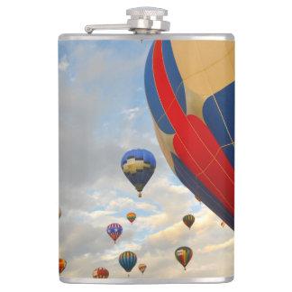Nevada Hot Air Balloon Races Hip Flask