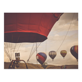 Nevada Hot Air Balloon Races Postcard