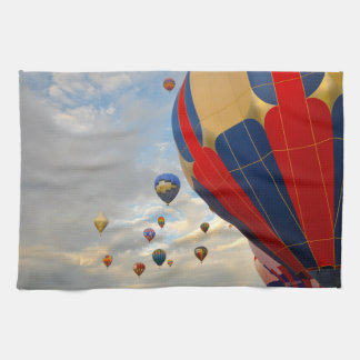 Nevada Hot Air Balloon Races Tea Towel