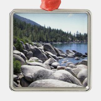 Nevada - Lake Tahoe Landscape Metal Ornament
