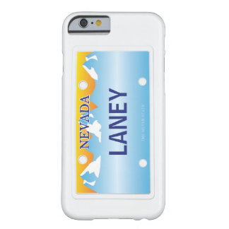 Nevada License Plate Barely There iPhone 6 Case