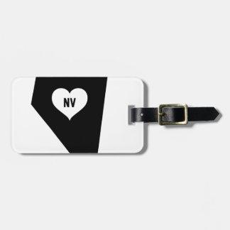 Nevada Love Luggage Tag