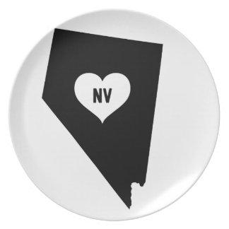 Nevada Love Plate
