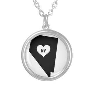 Nevada Love Silver Plated Necklace