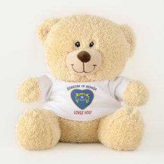 Nevada Loves You Teddy Bear