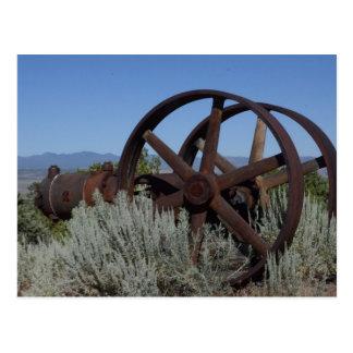 Nevada Mine Equipment Postcard