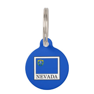 Nevada Pet Name Tag
