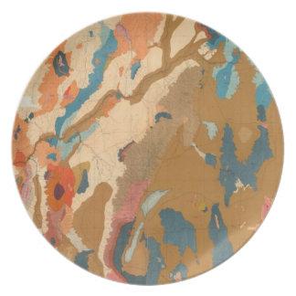 Nevada Plateau Geological Plates