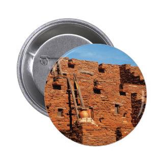 Nevada - Pueblo Pinback Buttons