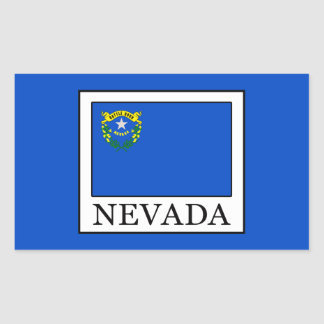 Nevada Rectangular Sticker
