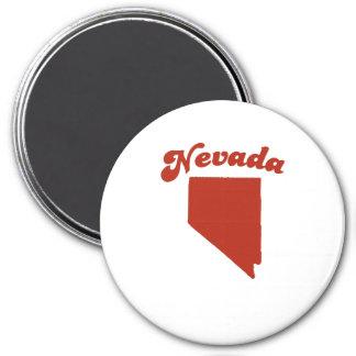 NEVADA Red State Refrigerator Magnet