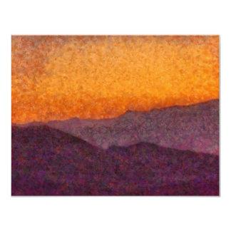 Nevada - Rolling Hills 11 Cm X 14 Cm Invitation Card