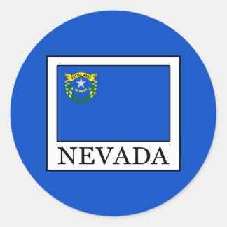 Nevada Round Sticker