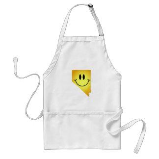 Nevada Smiley Face Standard Apron