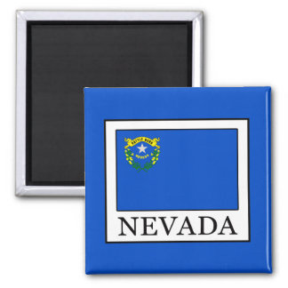Nevada Square Magnet