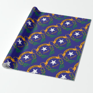 NEVADA SYMBOL WRAPPING PAPER