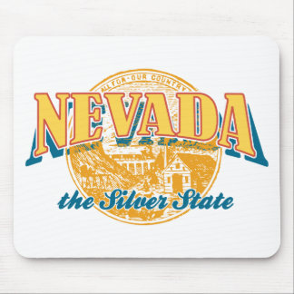 Nevada - The Silver State Mouse Pad