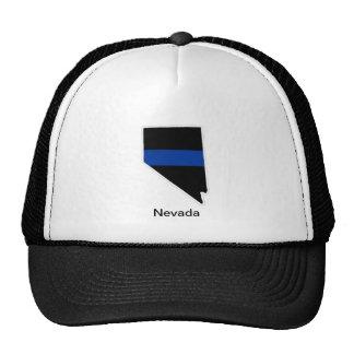 Nevada Thin Blue Line Trucker Hat