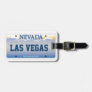 Nevada traveler luggage tag