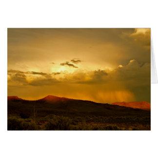 Nevada Wild Horse St Park Sunset Photo Note Card