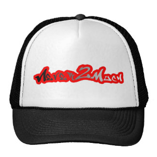 never2much faded lid mesh hat
