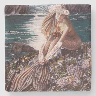 Never A Bride Mermaid Coaster