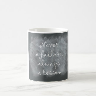 Never a Failure, Always a Lesson Coffee Mug
