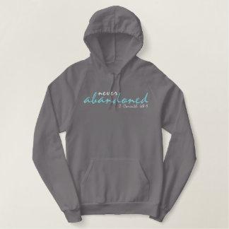 Never Abandoned Christian hoodie