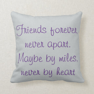 Never Apart-only by miles-never by heart-seascape Cushion