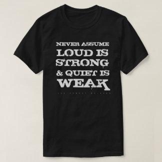 Never Assume (Dark) T-Shirt