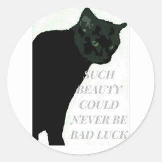 Never Bad Luck Sticker