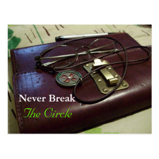 Never Break The Circle Postcard