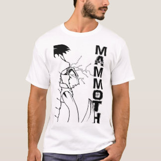 "Never Cave range - ""MAMMOTH"" T-Shirt"