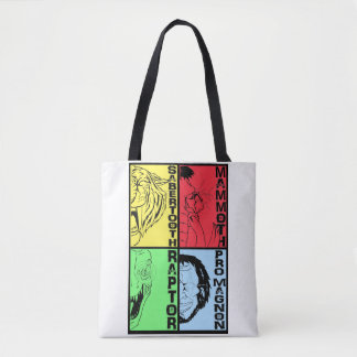 "Never Cave range - ""WHY CHOOSE?"" Tote Bag"