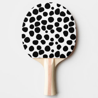 Never Change Your Spots Ping Pong Paddle