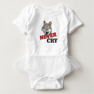 never cry wolf baby bodysuit