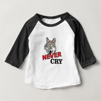 never cry wolf baby T-Shirt