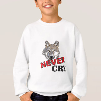 never cry wolf sweatshirt