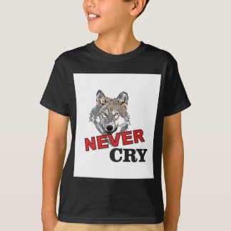 never cry wolf T-Shirt