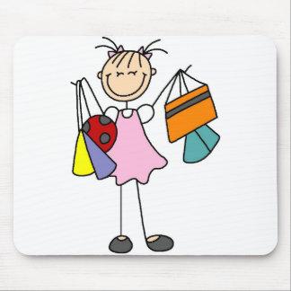 Never Enough Bags Shopping Mousepad