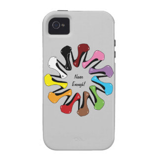 Never Enough Shoes (Customizable) iPhone 4 Cover