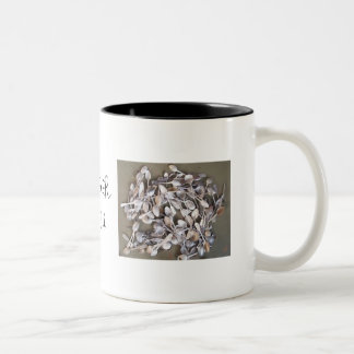Never Enough Spoons!! Two-Tone Coffee Mug
