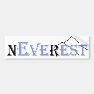 Never Ever Rest | Everest Bumper Sticker