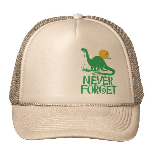Never Forget Big Dot Mesh Hats