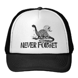 Never Forget Dinosaur Hats
