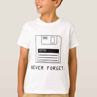 Never Forget : Floppy Disk Shirts
