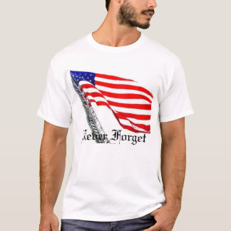 Never Forget Ladder Flag T-Shirt