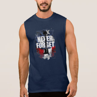 Never Forget (Memorial Day) Sleeveless Shirt