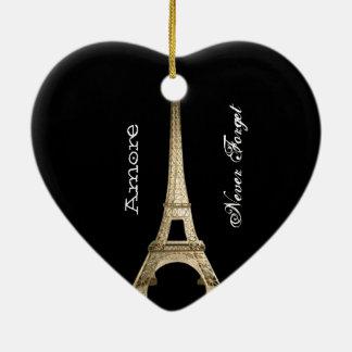 Never Forget PARIS  Ornament CUSTOM CHIC 2015